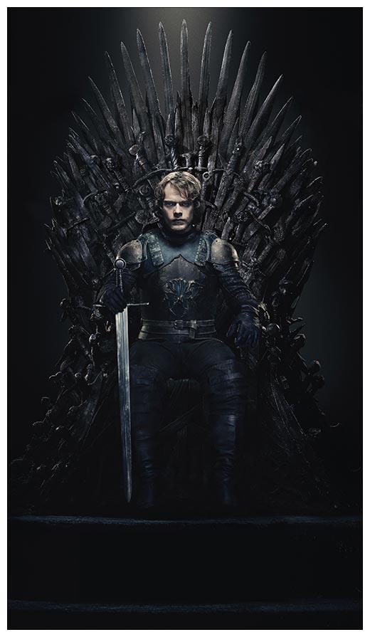 Неформатный постер Game of Thrones / Игра престолов